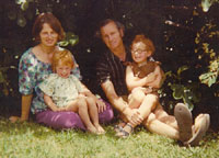 My parents, my sister, and me.